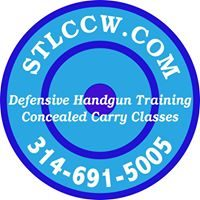 St Louis CCW. $50 Permitless carry class. Defensive handgun training $50 with your gun. Handgun safety and marksmanship for beginners $75 includes gun and ammo.